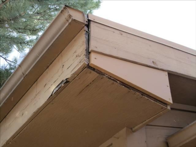 Soffit fascia for Does a house need gutters